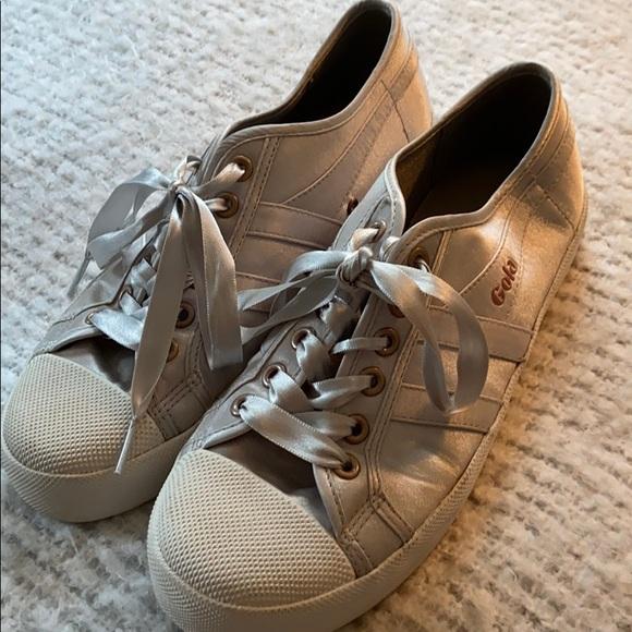 Gola Shoes - Gola Coaster Satin Trainers